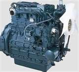 Images of Used Diesel Engines Kubota